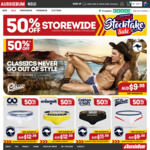 Up To 50% off Storewide @ aussieBum