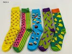 5 Pairs of Novelty Socks $15 Delivered @ Luggage Online