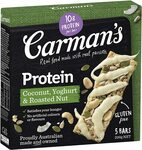 Carman's Protein Bar - Coconut, Yoghurt & Roasted Nut 200g $2.84 (S&S) + Delivery ($0 with Prime/ $39 Spend) @ Amazon AU