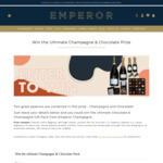 Win a Champagne & Chocolate Pack Worth $425 from Emperor Champagne