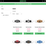 3 Washable Face Masks for $27 + Delivery @ Zavvi (RRP $17.99 each)