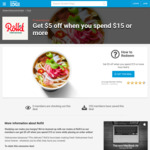 Get $5 off When You Spend $15 or More @ Roll'd (Student Edge Membership Required)