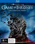 [Prime] Game of Thrones: Seasons 1-8 Box Set Blu-Ray $99 Shipped @ Amazon AU