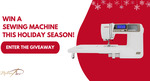 Win an 4120 QDC Janome Sewing Machine from MadamSew.com