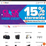 15% off Storewide (Some Exclusions) + 12 Months Interest Free @ digiDIRECT