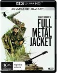 Full Metal Jacket 4K Blu Ray $17.49 + Delivery ($0 with Prime/$39 Spend) @ Amazon AU