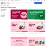 [eBay Plus] $1 Tuesday Deals: Bluedio Earphones (OOS) | Apple AirPods 2 $99 (OOS) | 8ft Trampoline $169, Massage Gun $39 @ eBay