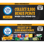 Bonus flybuys Points: 2000 with $50 Spend; + 1000/2000/3000 with $30/$50/$100 Spend on Selected Items @ First Choice Liquor