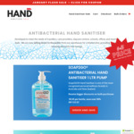 40% off Discounted Items (1Ltr Hand Sanitiser $5.97 + Shipping, $0 over $35 Spend) @ HandsanitiserSale