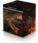 Game of Thrones: The Complete Collection (Series 1-8) 4k Blu-Ray $213.34 + Delivery ($0 with Prime) @ Amazon US via AU