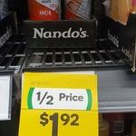 ½ Price Nando's PERi PERi Sauce 125g Varieties $1.92 @ Woolworths