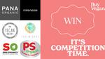 Win $1200 - $200 from each of PANA Organic, The Vegan Dairy, Saba Organics, Mirenesse, The V Spot, PS Organic