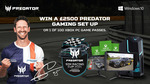Win $2500 Beat The Pro SIM Racing Competition Acer Predator Bundle