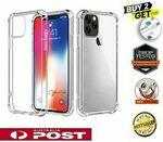 Clear Shockproof Bumper Back Case Cover for iPhone 12 11 Pro XS MAX XR 8 7 6 PLUS SE $3.99 Delivered @ Melbourne Phone Mart eBay