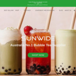 20% off Online Orders Sitewide @ Sunwide Bubble Tea