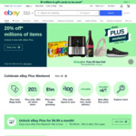 [eBay Plus] Receive $30 eBay Gift Card upon $49 Renewal of Current Subscription @ eBay