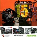 [Afterpay] AMD 5600X + Asus/AsRock/Gigabyte/MSI B550M Motherboard Combo $509.15 Delivered @ Gg.tech365 eBay