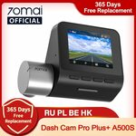 70mai Dash Cam Pro Plus A500S English (GPS, ADAS, Dual Channel) US$70.71 (~A$98.39) Delivered @ 70mai Official AliExpress