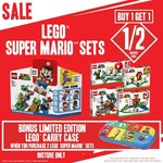 Buy 1 Get 1 Half Price: LEGO Super Mario Sets + Bonus Limited Edition Carry Case on 2+ Purchases) @ EB Games (In-Store Only)