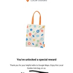 Free Tote Bag for Local Google Guides