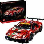 "LEGO 42125 Technic Ferrari 488 GTE ""AF Corse #51"" Super Sports Car $199.99 Delivered @ Amazon AU"
