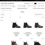 25% off Selected Full-Priced R. M. Williams Men's Boots $446.25 Delivered @ David Jones