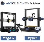 $70 off AnyCubic FDM 3D Printer | Mega Zero 2.0 $169 | Mega-S $236 | Vyper $435 | Delivered from @anycubic-make on eBay