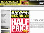 Radio Rentals SA Only - Get Your 2nd Product Half Price - Updated With Specific Deal Examples