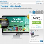 Mac Utility Bundle - 5 Vital Mac Apps Inc. Parallels Desktop 8 US $59.99