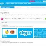 30% off Skype Credit