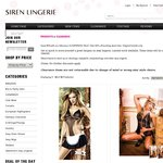 Lingerie Clearance Sale from as Little as $0.99 for Stockings, Babydolls, Bodystockings, etc