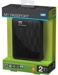 "WD 2TB MY PASSPORT Essential SE USB 3.0 Portable Pocket 2.5"" HDD - $169.95 Shipped"