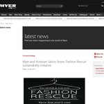 $10 Myer Voucher When You Donate to Salvos