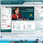 PER-PVG (Perth to Shanghai) Return on Cathay Pacific $836 Including Tax, during Christmas $1042