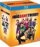 Big Bang Theory Blu-Ray S1-5 Approx AUD $50 Amazon UK