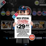 Domino's Wagyu Pizzas Only $29.95 -One Day Only $20 off