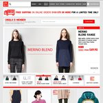 UNIQLO 20% off Everything Online (Code Required) - No Min Spend