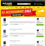 DICK SMITH $5 Mobile/Tablet Accessories Sale + Free Delivery