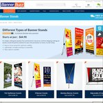 Exclusive Offer: 20% off on Banner Stands @ Banner Buzz