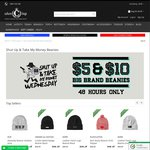 Big Brand Beanies from $5 + Shipping from $6.98 @ Culture Kings