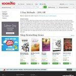 Koorong 20% off Online & Instore Until 2 Oct