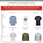 French Connection - 30% off Already Reduced Prices+ Free Shipping