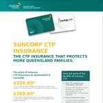 Switch Your CTP to Suncorp for a $50 EFTPOS Gift Card/Donation to YoungCare [QLD Only]