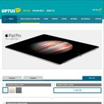 iPad Pro 128 Gb Wi-Fi + Cellular 4GB Data $149pm 12m Contract or $79pm for 24m Contract @ Optus