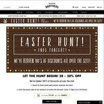 Hallensteins - 24 Hour Easter Hunt | Hidden 20-50% off Discount Codes