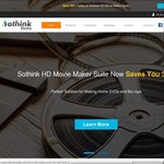 30% off: Sothink HD Movie Maker Suite US $53.19 (~AU $70) and Sothink Media Toolkit US $96.90 (~AU $130)