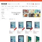 iPad Air 2 64GB $609, 128GB $669 at Myer (5% Price Beat at Officeworks: $578.55/64GB)