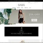 SABA Online - 30% off Coupon