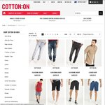 50% off Sale Items (Thongs $3 Shirts $5 Caps $5 Glasses $5 Shoes $10) @ Cotton On