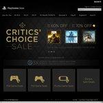 PlayStation Store US Critics Choice + EA Sales (Inc Mirror's Edge Catalyst US $9.99, BF1 $29.99, TF2 $23.99)